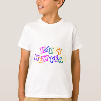 Happy New Year Color T-Shirt