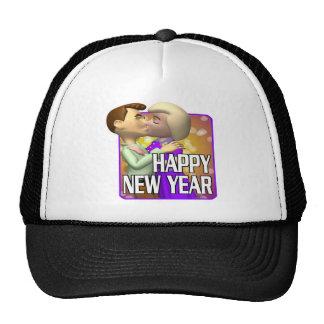 Happy New Year Couple Hat