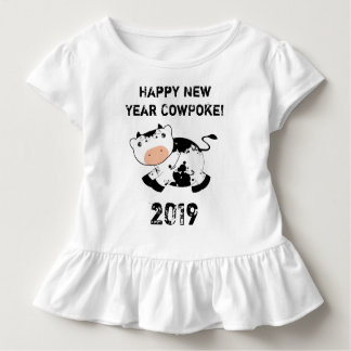 Happy New Year CowPoke! Toddler T-shirt