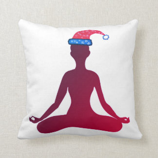 Happy New Year Cushion Yoga