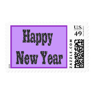 happy new year Customizable Postage Stamp