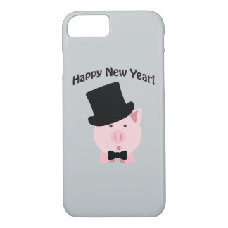 Happy New Year! Dapper Pig iPhone 8/7 Case
