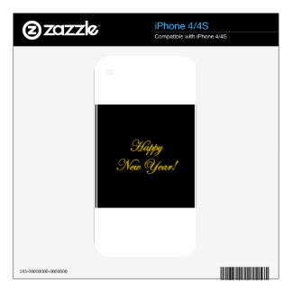 Happy New Year! Decal For The iPhone 4