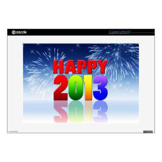 "Happy New Year Design 15"" Laptop Skin"