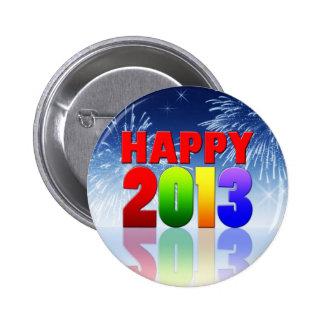 Happy New Year Design Button