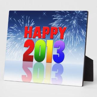 Happy New Year Design Display Plaque
