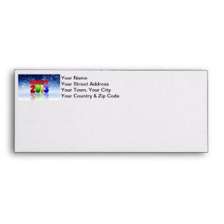 Happy New Year Design Envelope