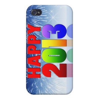 Happy New Year Design iPhone 4 Covers
