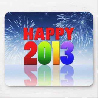 Happy New Year Design Mouse Pad