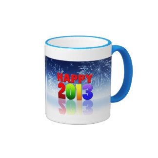 Happy New Year Design Mug