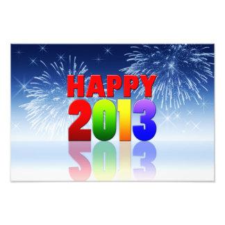 Happy New Year Design Photo Print