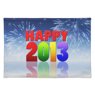 Happy New Year Design Placemat