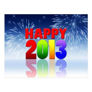 Happy New Year Design Postcard