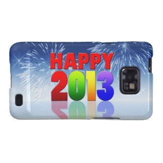 Happy New Year Design Samsung Galaxy SII Cover