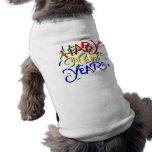 Happy New Year Dog Clothing