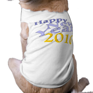 Happy New Year Dog Shirt