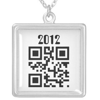 Happy New Year - English Silver Plated Necklace