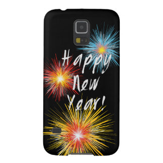 Happy New Year Firework Case For Galaxy S5