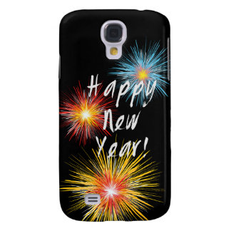 Happy New Year Firework Galaxy S4 Cover