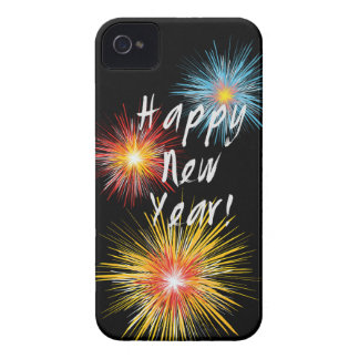 Happy New Year Firework iPhone 4 Cover