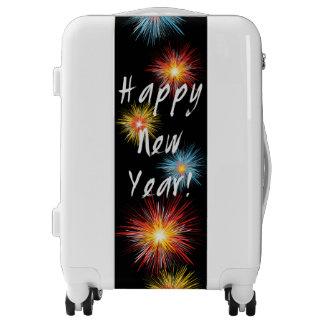 Happy New Year Firework Luggage