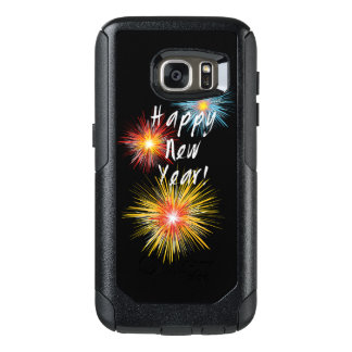Happy New Year Firework OtterBox Samsung Galaxy S7 Case
