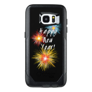Happy New Year Firework OtterBox Samsung Galaxy S7 Edge Case