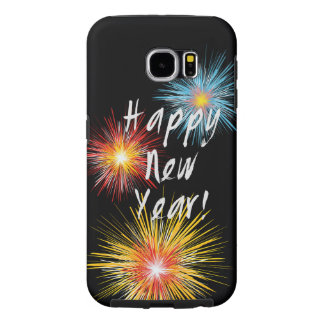 Happy New Year Firework Samsung Galaxy S6 Case