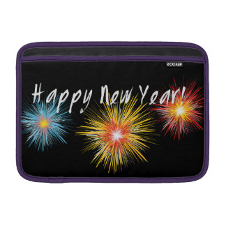 Happy New Year Firework Sleeve For MacBook Air