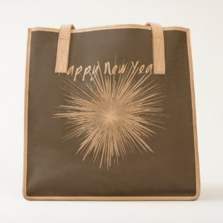 Happy New Year Firework Tote