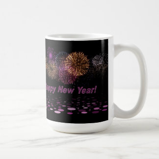 Happy new Year - fireworks Mugs