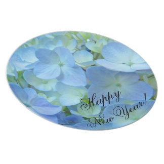 Happy New Year! Floral photography plates