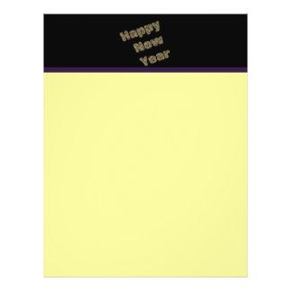 happy new year flyer design
