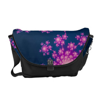 Happy New Year Fractal Courier Bag