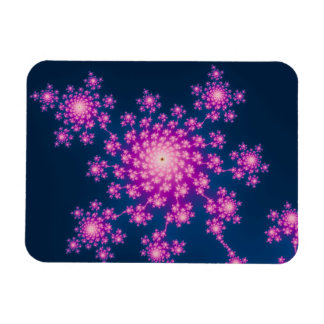 Happy New Year Fractal Magnet