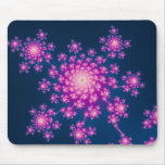 Happy New Year Fractal Mouse Pad