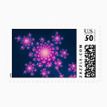 Happy New Year Fractal Postage