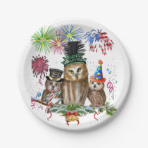 HAPPY NEW YEAR FROM ALL OF US! PAPER PLATE
