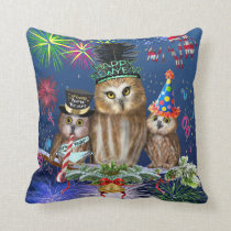 HAPPY NEW YEAR FROM ALL OF US! THROW PILLOW
