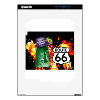 Happy New Year from Route 66 Giganticus Headicus Skin For iPad 2