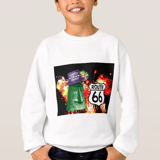 Happy New Year from Route 66 Giganticus Headicus Sweatshirt