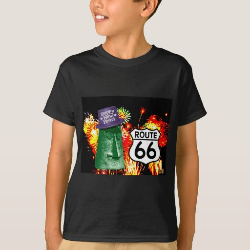 Happy New Year from Route 66 Giganticus Headicus T-Shirt