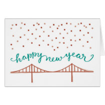 Happy New Year from San Francisco! Card