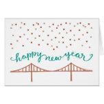 Happy New Year from San Francisco! Greeting Card