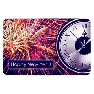 Happy New Year Gift Magnet