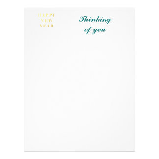 Happy New Year Gifts Letterhead