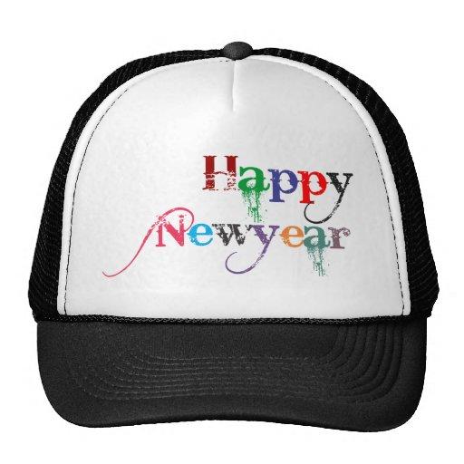 Happy new year - gorras de camionero