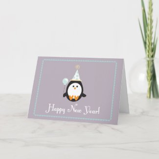 Happy New Year Greeting Card card