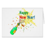 Happy New Year! Greeting Card