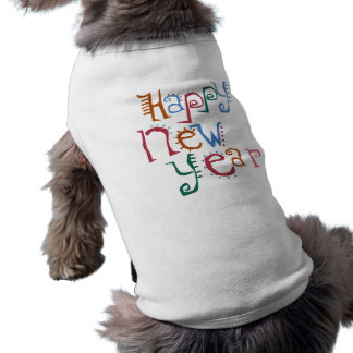 Happy New Year Greeting Tee